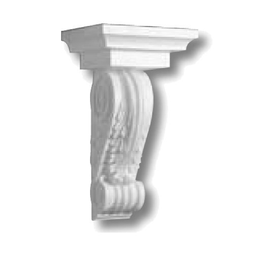 Focal Point 93200 Classic Corbel 12-Inch by 20 1/2-Inch 8 3/4-Inch, Primed White by Focal Point - 12 Corbel