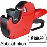 Jolly Preisauszeichner 6-Stellig schwarz/rot