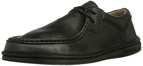 Birkenstock Shoes - Scarpe basse stringate Pasadena, Uomo, Nero (Schwarz (Black)), 44