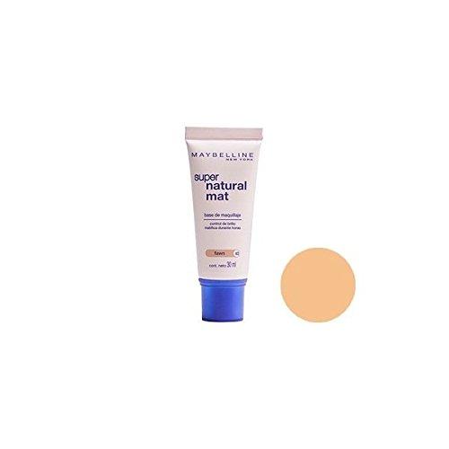 Maybelline Fond de Teint Naturel Mat base teintée light n°22 beige naturel tube 30 ml