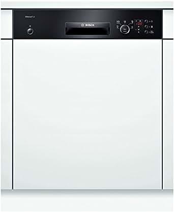 Bosch SMI50E56EU Lave-vaisselle 46 dB A+ Noir, Blanc