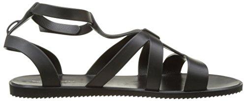 Zaxy Damen Dual Sandal Fem Knöchelriemen Noir (Black)