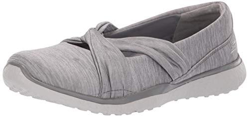 Skechers Damen Microburst - Knot Concerned Mary Jane Halbschuhe, Grau (Grey Gry), 38.5 EU Mary Jane Sneaker Schuh