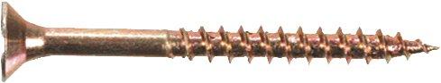 Preisvergleich Produktbild Unimet Spanplattenschrauben,  200 Stück,  gelb,  UM769928