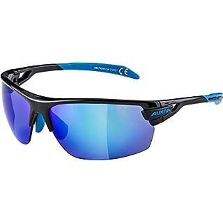 Alpina Sportbrille TRI-SCRAY, Schwarz/ Cyan, Einheitsgröße