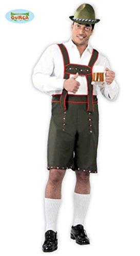 Kostüm Tiroler (Tiroler Lederhose - Kostüm für Herren Gr. M/L,)