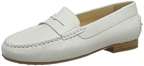 Sioux Damen Loana-171 Mokassin Weiß (Weiss)
