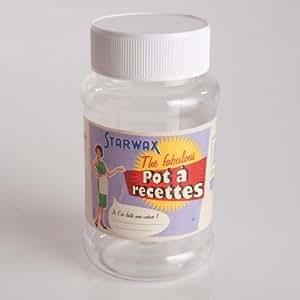 Starwax - Le pot à mélange Starwax® - Pot à recettes