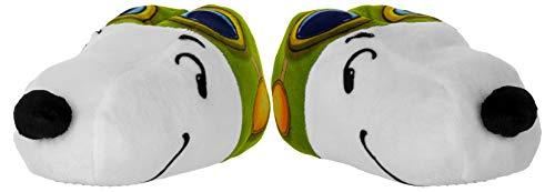 Beppi Hausschuhe für Kinder - Plüsch-Pantoffeln mit Snoopy-Motiv - Größe 27