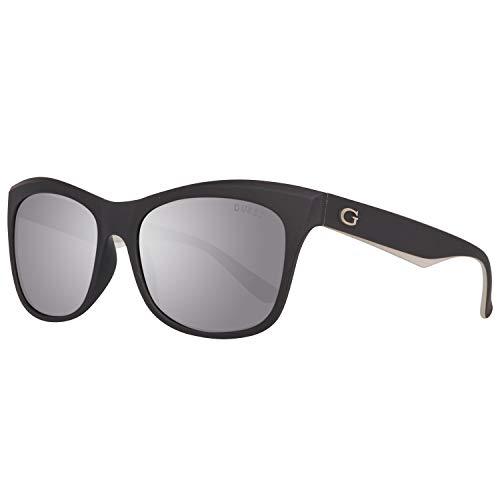 Guess Damen GU7464-5502C Sonnenbrille, Schwarz (Black), 55