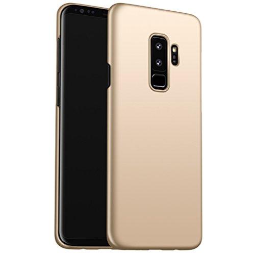 Samsung Galaxy S9 plus Etui Coque Pacyer® Tough Ultra Slim Légère Case Cover Housse Etui Bumper PC Antichoc Premium Protection avec Absorption de Choc Pour S9 plus Or