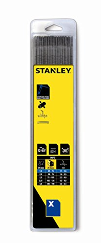 Stanley ST-90704 - Blíster Electrodos acero inoxidable 2,5x3,00. 10 uds.