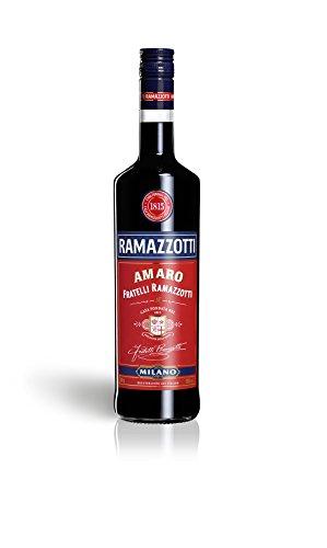 Ramazzotti Amaro - Der italienische Digestif mit 33 verschiedenen Kräutern - Absacker mit perfekter bittersüßen Note - 1 x 1 L