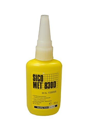 Henkel Sicomet 8300, 50g, Sekundenkleber, Sofortklebstoff, niedrigviskos