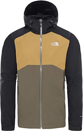 The North Face Resolve Insulated Jacket Giacca invernale New Taupe Green | S