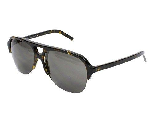 Dior Homme Blacktie 157s Cut Tortoise / Palladium / Brown Kunststoffgestell Sonnenbrillen