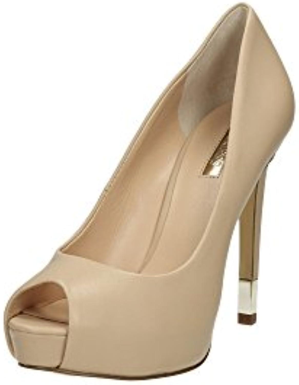 Scarpe Decolletté Donna Guess Mod. HADIE LEATHER scarpe FL2HADLEA07 Col. Beige. | Prodotti di alta qualità  | Uomo/Donne Scarpa