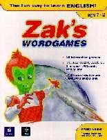 Zak's Wordgames CD-ROM British English/Mono