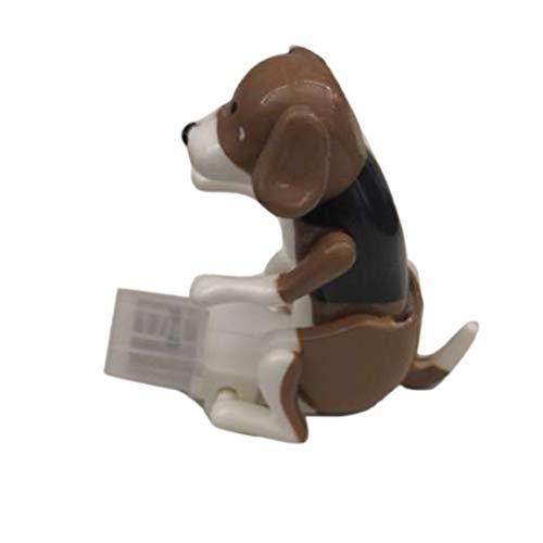 (SeniorMar Lustige USB Elektronische Hund Protable Springen Walking Action Moving Hund Spielzeug Relief Stress Kinder Kinder Geschenk Spielzeug)