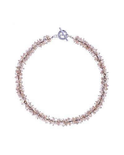 ted-baker-beige-irisierend-slinky-bead-cluster-choker-halskette-von-46-cm