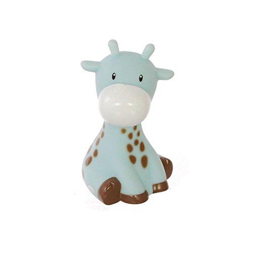 AC-Déco Raf la girafe - Hucha en forma de jirafa, color azul