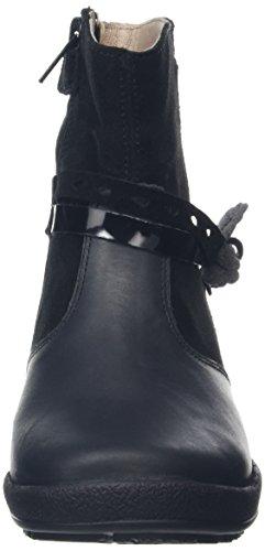 Garvalin 161801, Bottes Classiques fille Noir - Black (Negro)