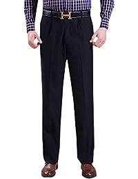 55988652217a5 KINDOYO Pantalones de Traje Formal Hombres - Pantalones Profesionales Largos  Rectos