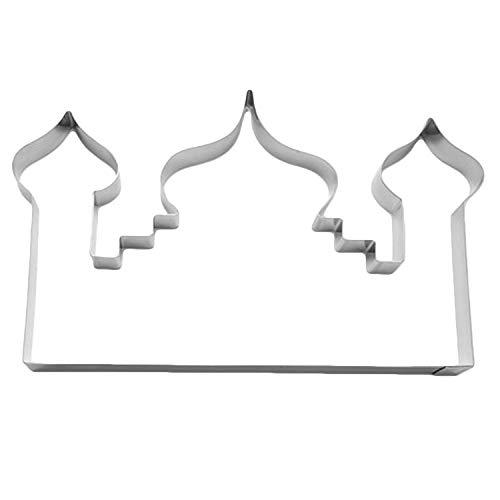 Cuttersweet 1 Keksausstecher Moschee | aus Edelstahl