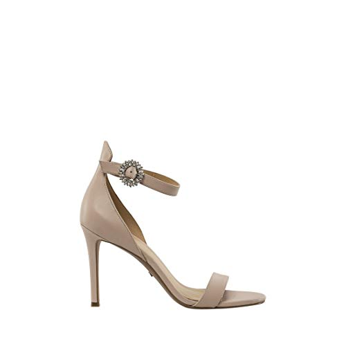 Michael Kors Sandalo Viola Sandal Leather Soft Pink Taglia 38 - Colore Rosa