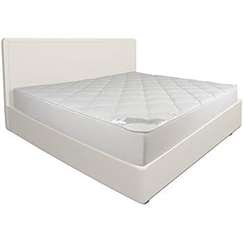Sei Design ® Luxus mikrofaser Matratzenschoner gesteppt 180x200, extra soft und weich. Durch doppelte Polsterung gleicht das Unterbett die Unebenheiten aus und macht aus Ihrer Matratze ein Kuschelbett. Matratzen-Auflage auch für Boxspring-Bett und Wasserbett.