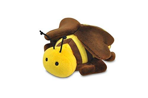P.L.A.Y. Pet Lifestyle and You - Bugging Out Toy - PLÜSCH SPIELZEUG FÜR HUNDE UND KATZEN - Burt the Bee / Biene (Bee Hundespielzeug)