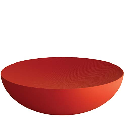 Alessi Double,Bowl Red 32 cm