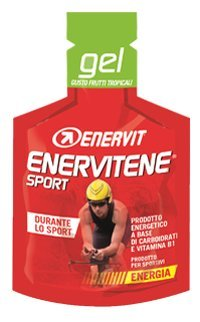 Enervit Enervitene Sport Gusto Fruti Tropicali Confezione da 24 Gel da 25ml