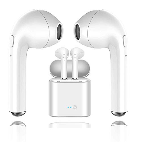 Bluetooth Kopfhörer in Ear Sport Kabellose Ohrhörer Bluetooth 4.2 Wireless Ohrhörer mit HD Mikrofon und Mini Portable Ladebox Stereo Headset für iOS Android - Bluetooth-stereo-headset Mikrofon Mit