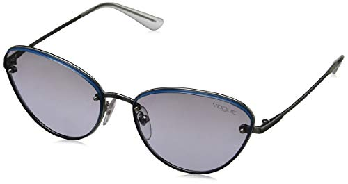 Vogue Eyewear Damen 0VO5154SB 241611 56 Sonnenbrille, Blau (Bluette/Greygradient),