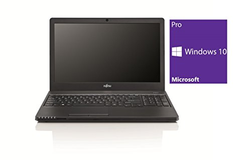 Fujitsu Lifebook A555 Notebook / Laptop | 15.6 Zoll Display | Intel Core i3-5005U @ 2,0 GHz | 4GB DDR3 RAM | 500GB HDD | DVD-Brenner | Windows 10 Pro vorinstalliert (Zertifiziert und Generalüberholt) (I3 Refurbished Laptop-core)