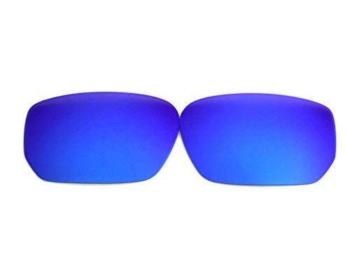 Galaxylense Ersatzgläser für Oakley Polarized Stil für Männer oder Frauen Regular 60x1.5x40 Blau