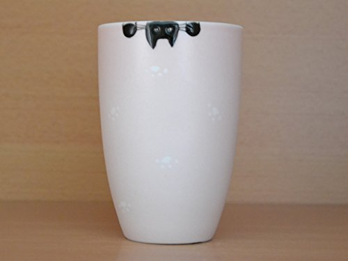 Katze , schöner Becher aus Porzellan, Becher mit Katzenmotiv, Tasse mit Katzemotiv, Teetasse, Teebecher, Kaffeebecher, Tasse, Becher, spülmaschinenfest, Geschenk -