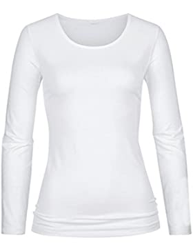 Mey Balance Bianco Cotone Miscela Maglietta 26481
