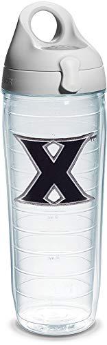 Tervis Individuelle Trinkflasche mit Deckel Xavier University 24 oz Emblem Xavier University