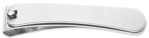 """Nagelknipser """"Edelstahl"""" gerade Schneide - sehr flach - rostfreier Edelstahl - L = ca. 88 mm"""