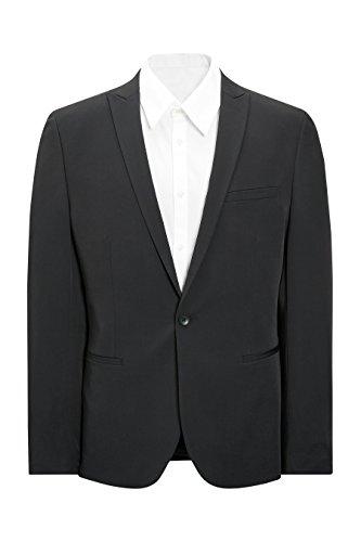 next Homme Veste De Costume Slim Fuselée Noir