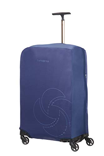 Samsonite Global Travel Accessories, Foldable Medium Custodia M/L, 82 centimeters, Blu (Midnight Blue)