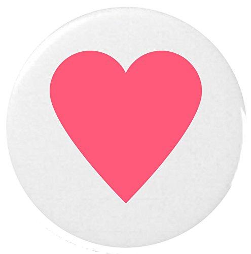 Herz Anzug Emoji 25 mm Anstecker / Heart Suit Emoji 25mm Button Badge