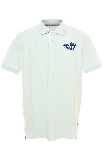 Signum Polo Poloshirt Herren Kurzarm Weiß