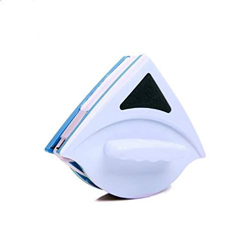 Yeying123 Magnetisches Doppel-Side-Glasreinigungsfenster Clean Brush Glider Waschbürste Glas Wiper Reinigungswerkzeug für Doppel-Verglasung,Blue,S