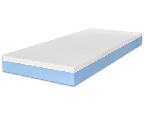 Marcapiuma - materasso singolo memory 80x190 alto 20 cm - sunrise - h2 medio dispositivo medico ce - relax effetto massaggio ergonomico rivestimento sfoderabile 5 zone antiacaro 100% made in italy