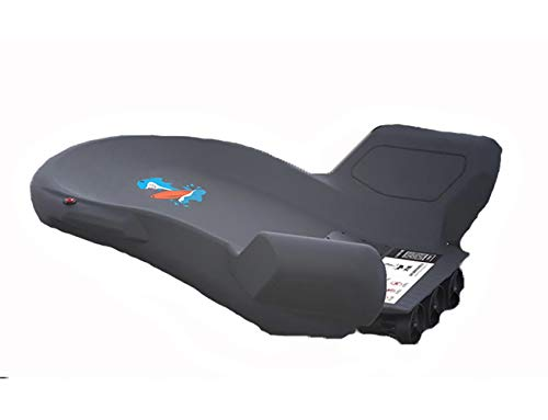 WNZL Electric Surfboard-24V Battery Driven Electric Board Stand Up Paddle Board, Surf Control, Anti-Slip Deck Standing Boat für Jugendliche und Erwachsene,Black