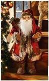 bb-10 Shop Weihnachtsmann stehend 60 cm XL Weihnachtsmann Weihnachtsdeko Knecht Ruprecht Santa Claus Nikolaus