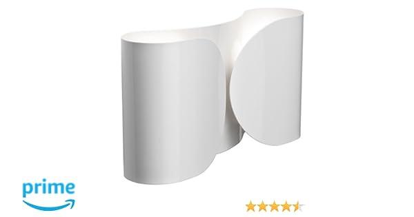 Flos lampada da parete foglio bianco amazon illuminazione